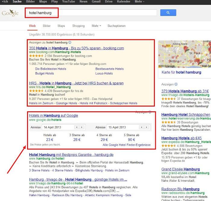 hotel hamburg Google Suche