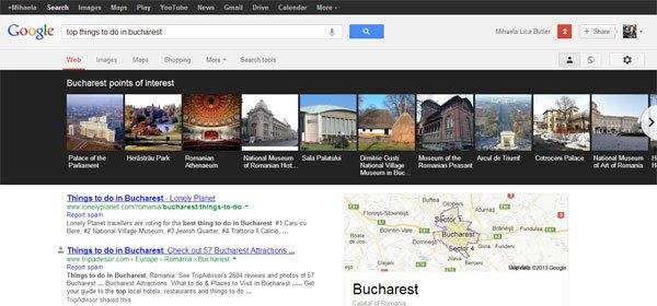 google travel search