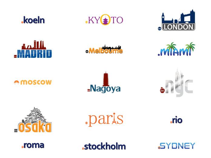 domeny miast