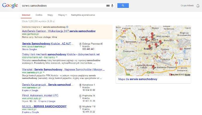 wyszukiwarka serwis