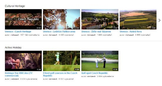 Czechtourism-YouTube