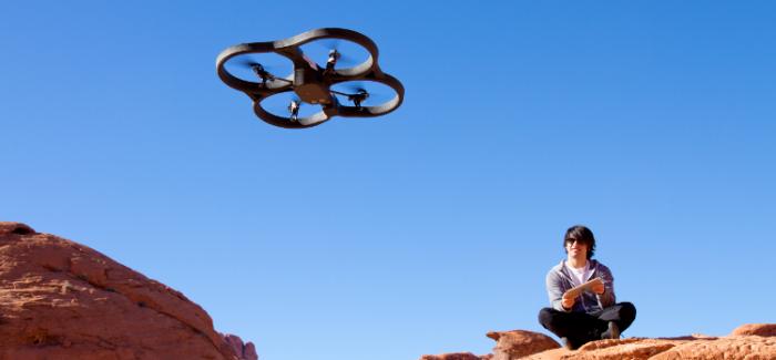 Drony atakują turystykę